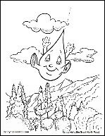 Randy Visits North West Coloring Page.pdf